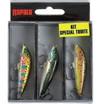 RAPALA TROUT KIT CD5RT-F5MN-F5TR