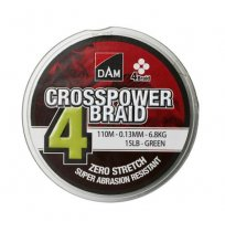 DAM CROSSPOWER 4-BRAID 150M GREEN