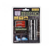 LAMPA 12-LED TORCH UV-FLASH